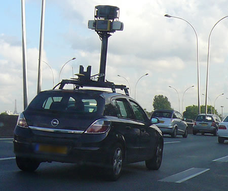 street view google car