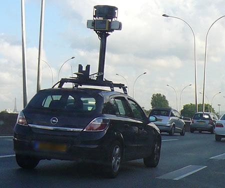 street view google car