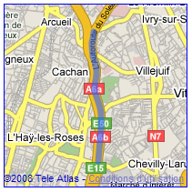 Trajet Google car 13 juin 2008