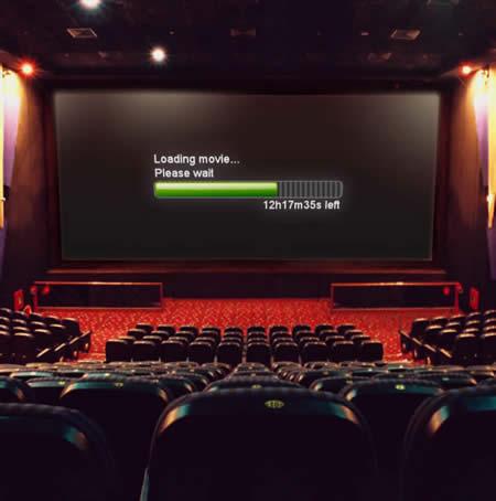 cinema loading screen