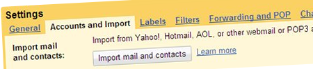 import to gmail